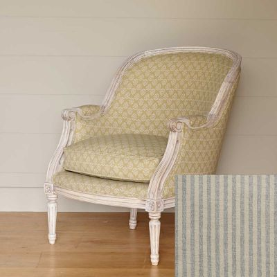 Ex-Display - Library Chair – Charcoal Natural Stripe