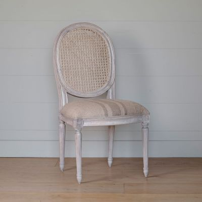 Seconds Upholstered Farmhouse Dining Chair