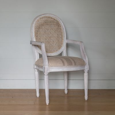 Oval Cane Back Carver Chair - Seconds