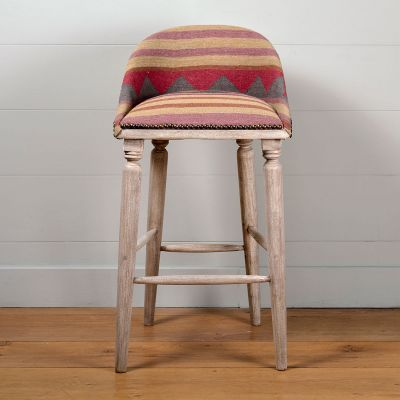 Biarritz Upholstered Bar Stool