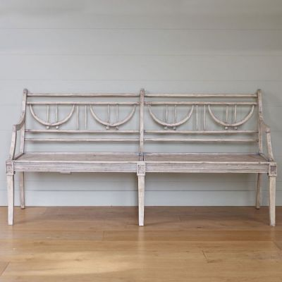 Seconds Large Gustavian Bench