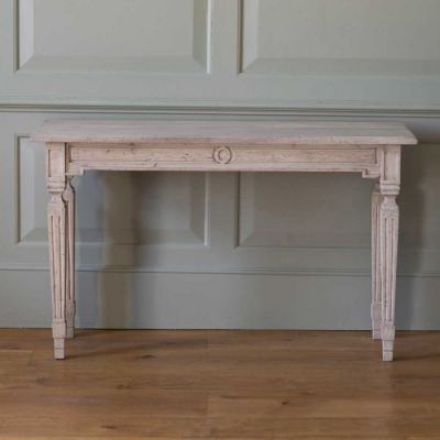 Seconds Carved Console Table - Medium