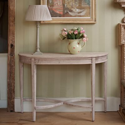 Curved Console Table