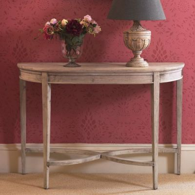 Seconds Curved Console Table - Seconds