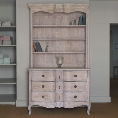 Gustavian Chest of Drawers and Bookcase
