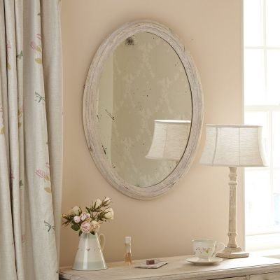 Seconds - Carved Oval Mirror