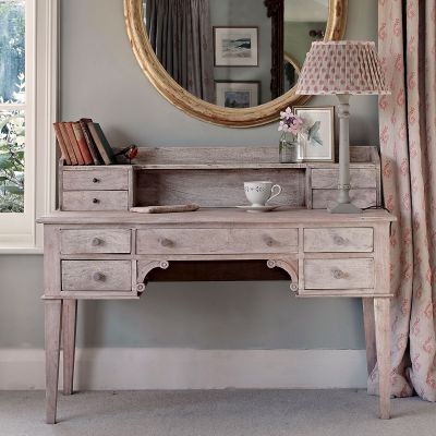 Large Gustavian Desk with top