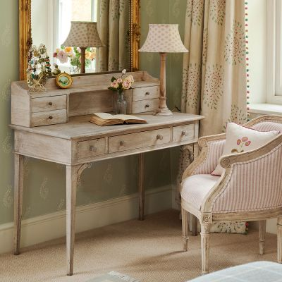 Gustavian Desk with top