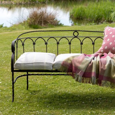 Standard Wrought Iron Garden Bench
