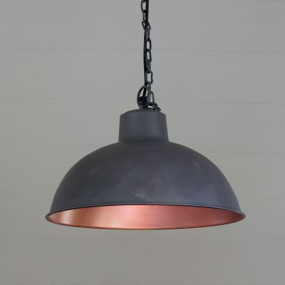Charcoal Metal Pendant Lamp