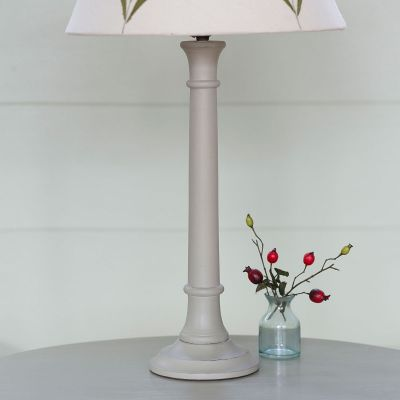 Small Light Grey Lamp Base – Seconds