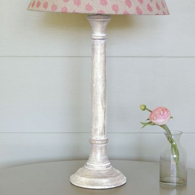 Small Weathered Lamp Base - Seconds