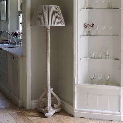 Reeded Floor Lamp