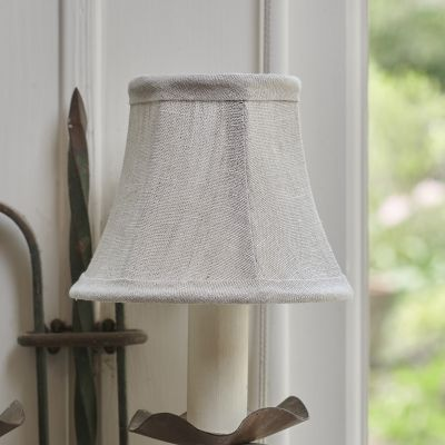 Plain Linen Framed Lampshade - 5""
