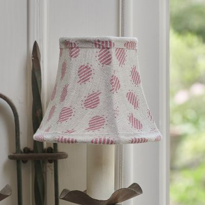 Rose Nina Linen Framed Lampshade - 5""