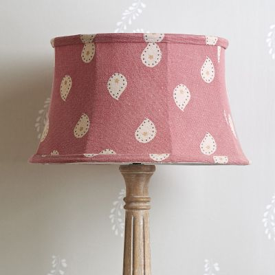 "Rose Mika 14"" Framed Lampshade"
