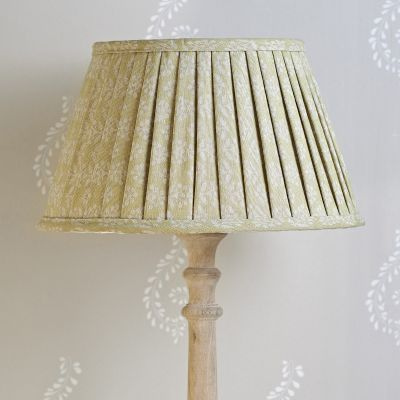 Pleated Lampshade - Catkin Sprig 14
