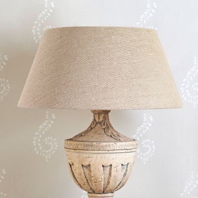 "Rustic Linen Empire 16"" Lampshade"