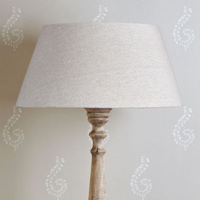 Grey Cotton Empire Lampshade 18""