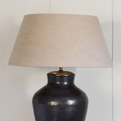 Empire Natural Linen Lampshade 18""
