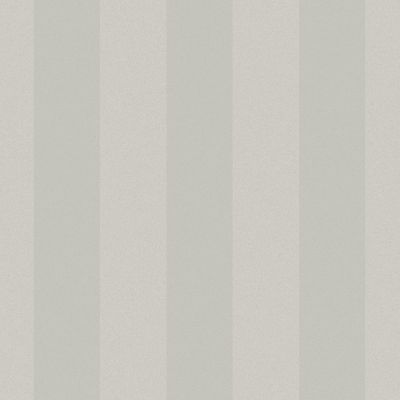 Dove Grey Wide Stripe Wallpaper