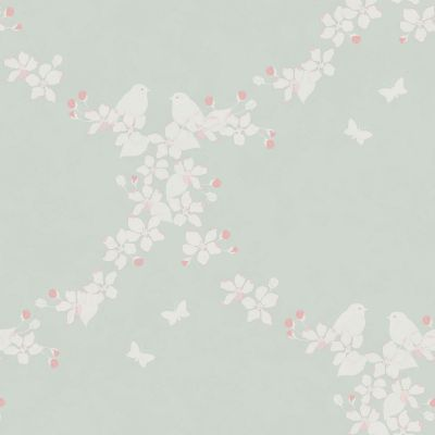 Duck Egg Apple Blossom Wallpaper