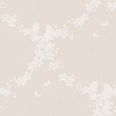 Wallpaper - Apple Blossom - Blush/ Ivory (Wallpaper)