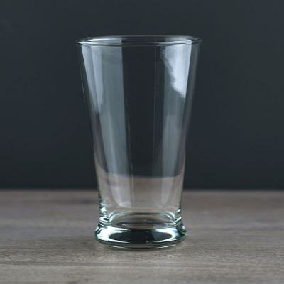 Hand-blown Clear Glass Large Tumbler