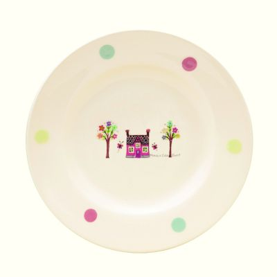 Lucy Art Magic Cake Shop Side Plate