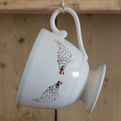 Black Hen Large Mug