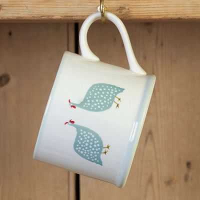 Duck Egg Guinea Fowl  Straight Mug