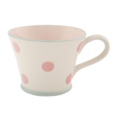 All Over Spot Pink Conical Mug
