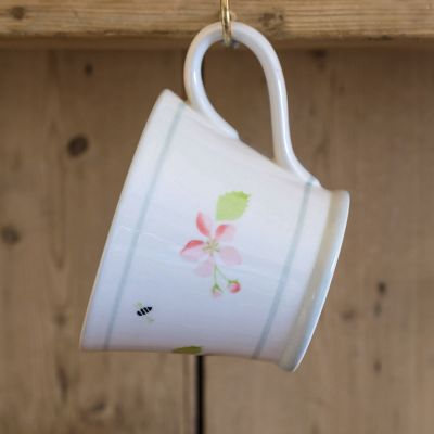 Apple Blossom Conical Mug