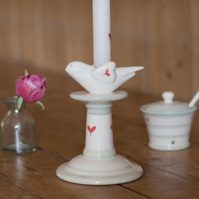 Oscar Small Bird Candlestick