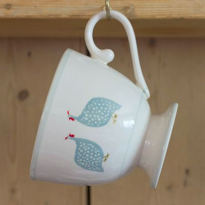 Duck Egg Guinea Fowl Large Mug