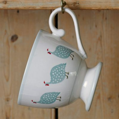 Duck Egg Guinea Fowl Parade Large Mug
