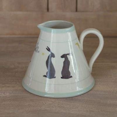 Sitting Hares Baby Pitcher