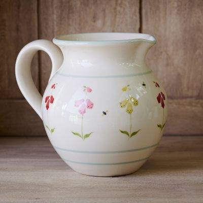 Foxgloves Medium Round Jug