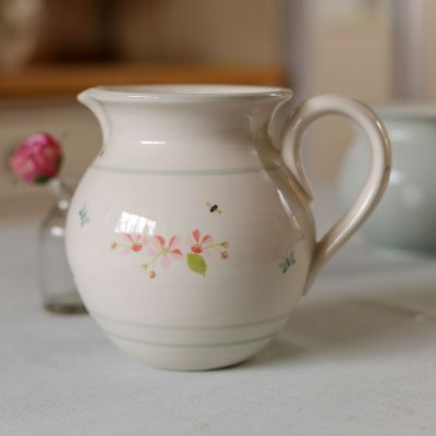 Apple Blossom Medium Round Jug