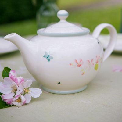 Apple Blossom Round Teapot