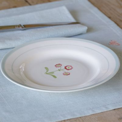 Rose Auricula Side Plate – Seconds