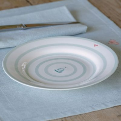 Side Plate - Boats - 20.5cm