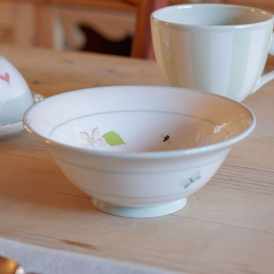 Apple Blossom Pudding Bowl - 17.5cm