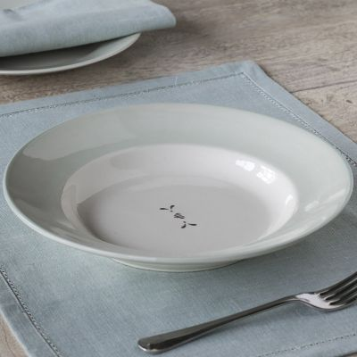 Gustavian Charcoal Heart Entree Dish – Seconds