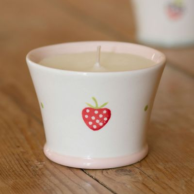 Scented Candlepot – Strawberry