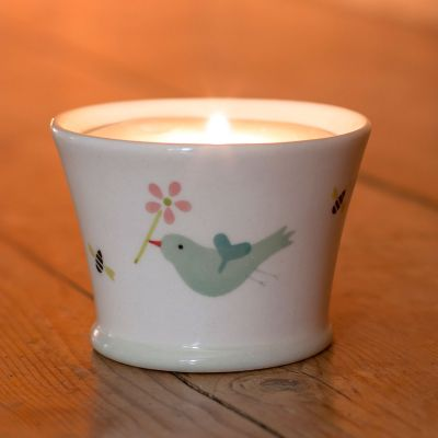 Birds & Bees Scented Candlepot