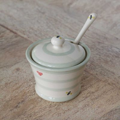 Honey Bees Salt Pot