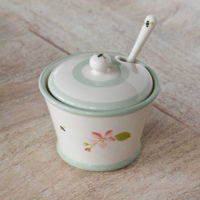 Apple Blossom Sugar Bowl