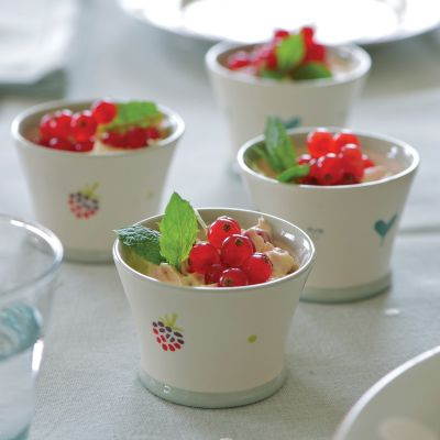 Simply Blue Oscar Pudding Pot
