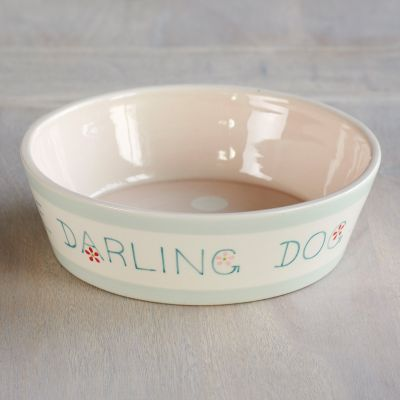 Personalised Dog's Dinner Bowl – Pink
